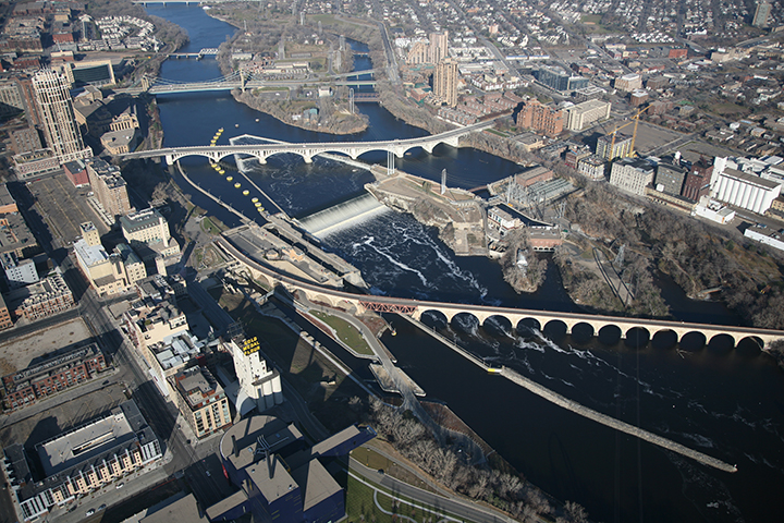 Upper St. Anthony Falls Lock & Dam