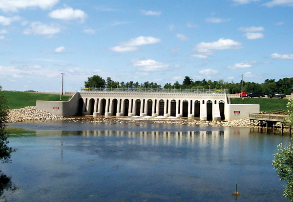 Cross Lake Dam