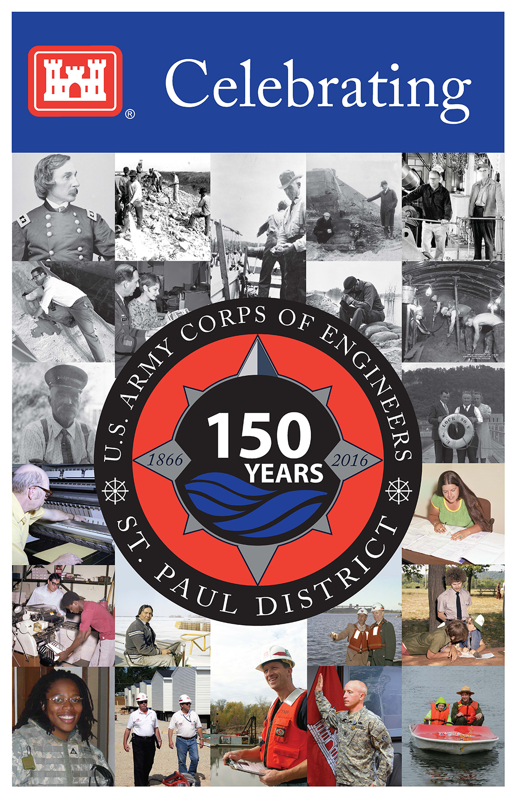 150th Anniversary poster